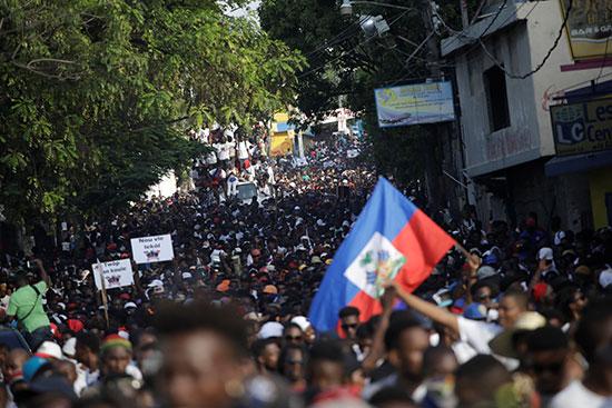 مسيرة للمطالبة برحيل مويس