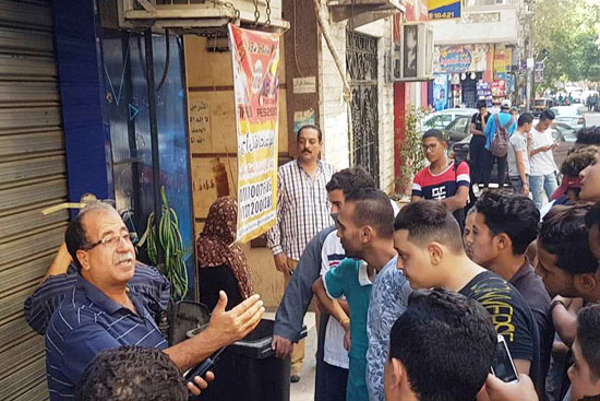 حملات لغلق المقاهى بمحيط المدارس (7)