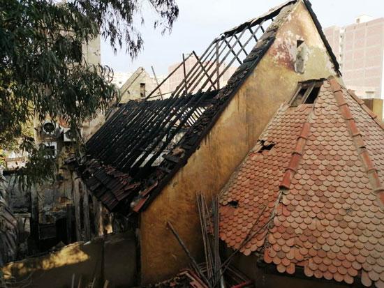 أثار-حريق-كنيسة-مارجرجس