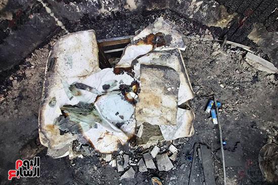 اثار-الحريق-على-المذبح
