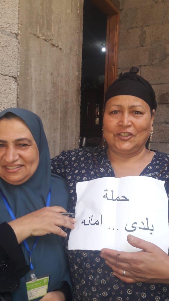 حملة طرق الأبواب بشمال سيناء (1)