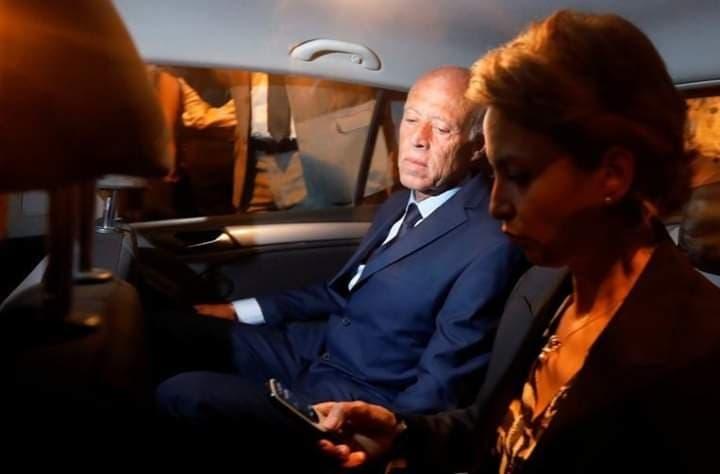 زوجة رئيس تونس