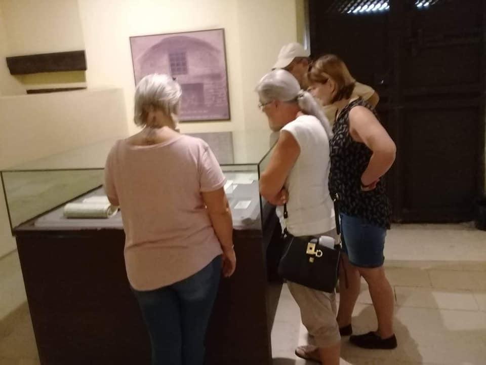 وفود أمريكية وألمانية تزور متحف رشيد الوطنى  (2)