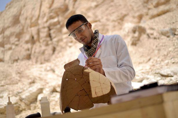 البعثة الآثرية المصرية تنجح في عامين منذ عودتها للعمل في 2017 (3)