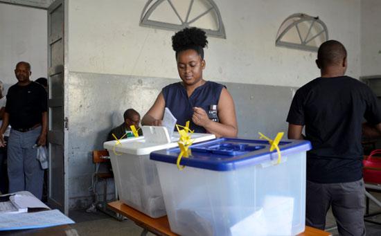 التصويت فى الانتخابات