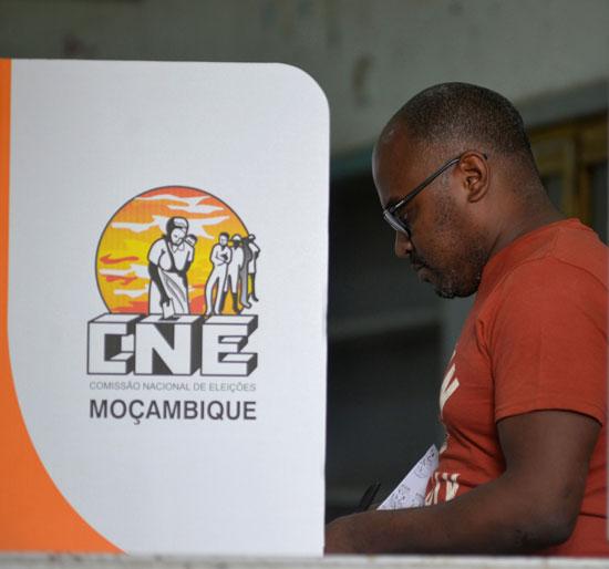 الانتخابات فى موزمبيق