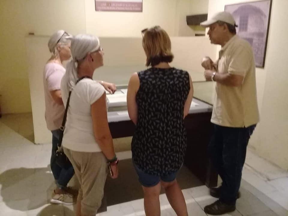 وفود أمريكية وألمانية تزور متحف رشيد الوطنى  (3)