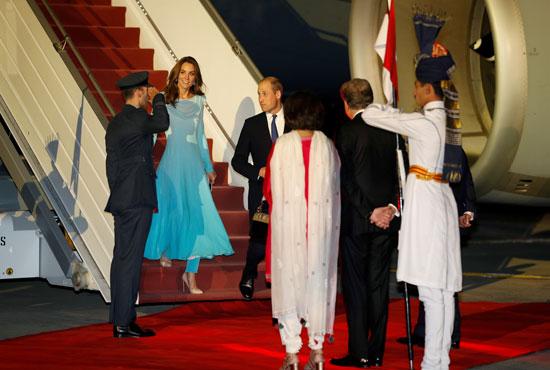 استقبال الأمير وليام