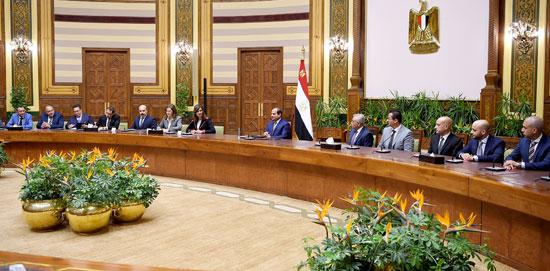 اجتماع السيسى مع وفدا من المستثمرين المصريين بالخارج (3)