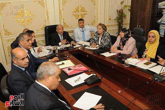 اجتماع لجنة الخطة والموازنة بمجلس النواب (1)