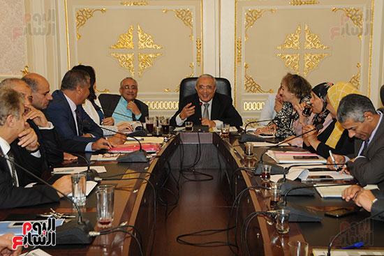 اجتماع لجنة الخطة والموازنة بمجلس النواب (5)