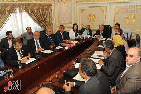 اجتماع لجنة الخطة والموازنة بمجلس النواب (4)