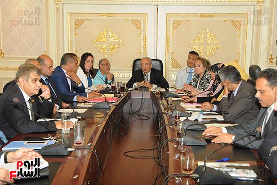 اجتماع لجنة الخطة والموازنة بمجلس النواب (3)