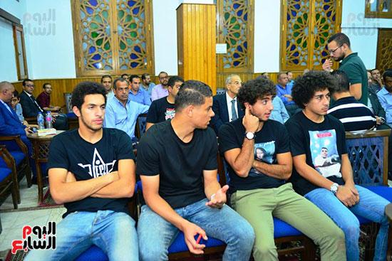 عزاء والدة علاء عبد الصادق (4)