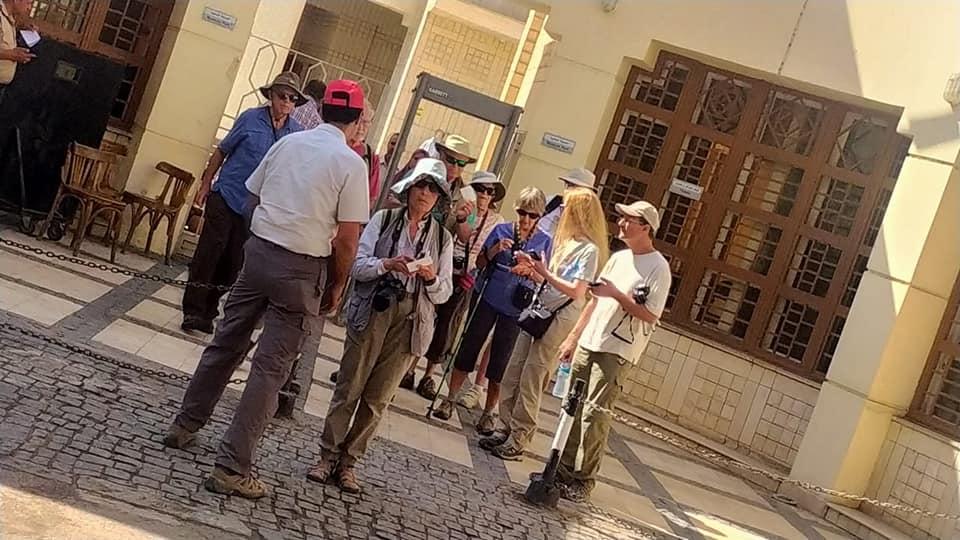 وفود أمريكية وألمانية تزور متحف رشيد الوطنى  (9)