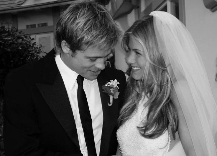 حفل زفاف براد وجينيفر