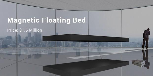 السرير العائم المغناطيسي
