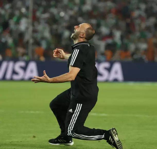 جمال بلماضي مدرب منتخب الجزائر