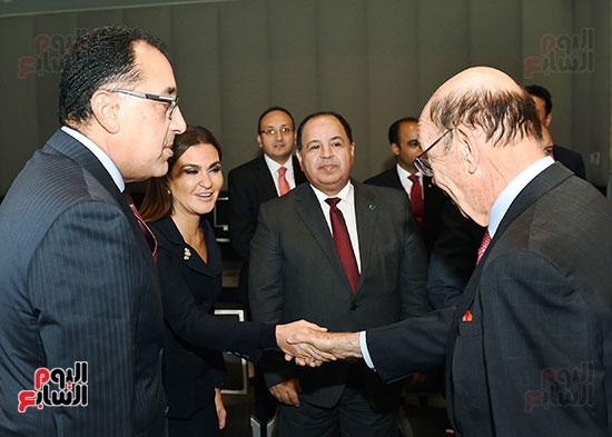 لقاء رئيس الوزراء بوزير التجارة الأمريكى (4)