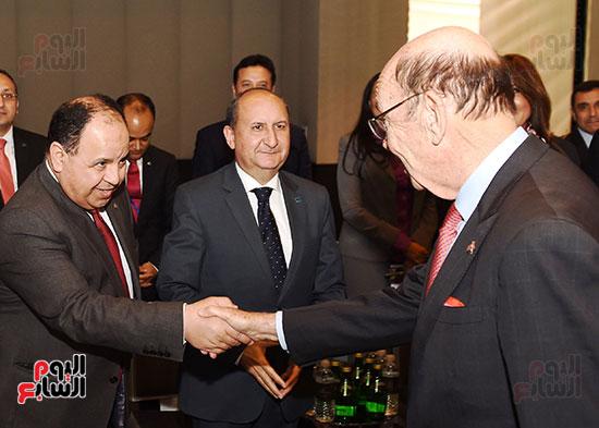 لقاء رئيس الوزراء بوزير التجارة الأمريكى (3)