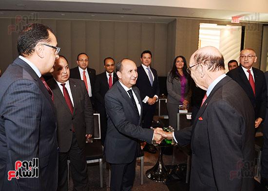 لقاء رئيس الوزراء بوزير التجارة الأمريكى (1)