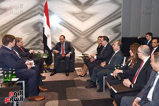 جانب من المباحثات المصرية مع صندوق النقد