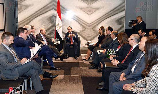 لقاء رئيس الوزراء بوزير التجارة الأمريكى (6)