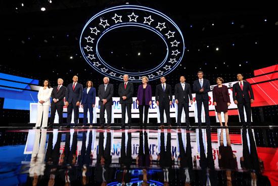 مناظرة المرشحين لانتخابات الرئاسة الأمريكية