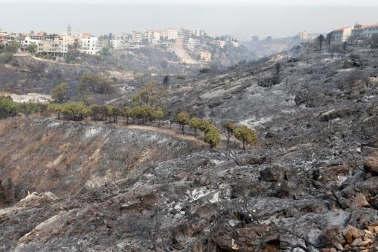 أثار الحرائق (2)