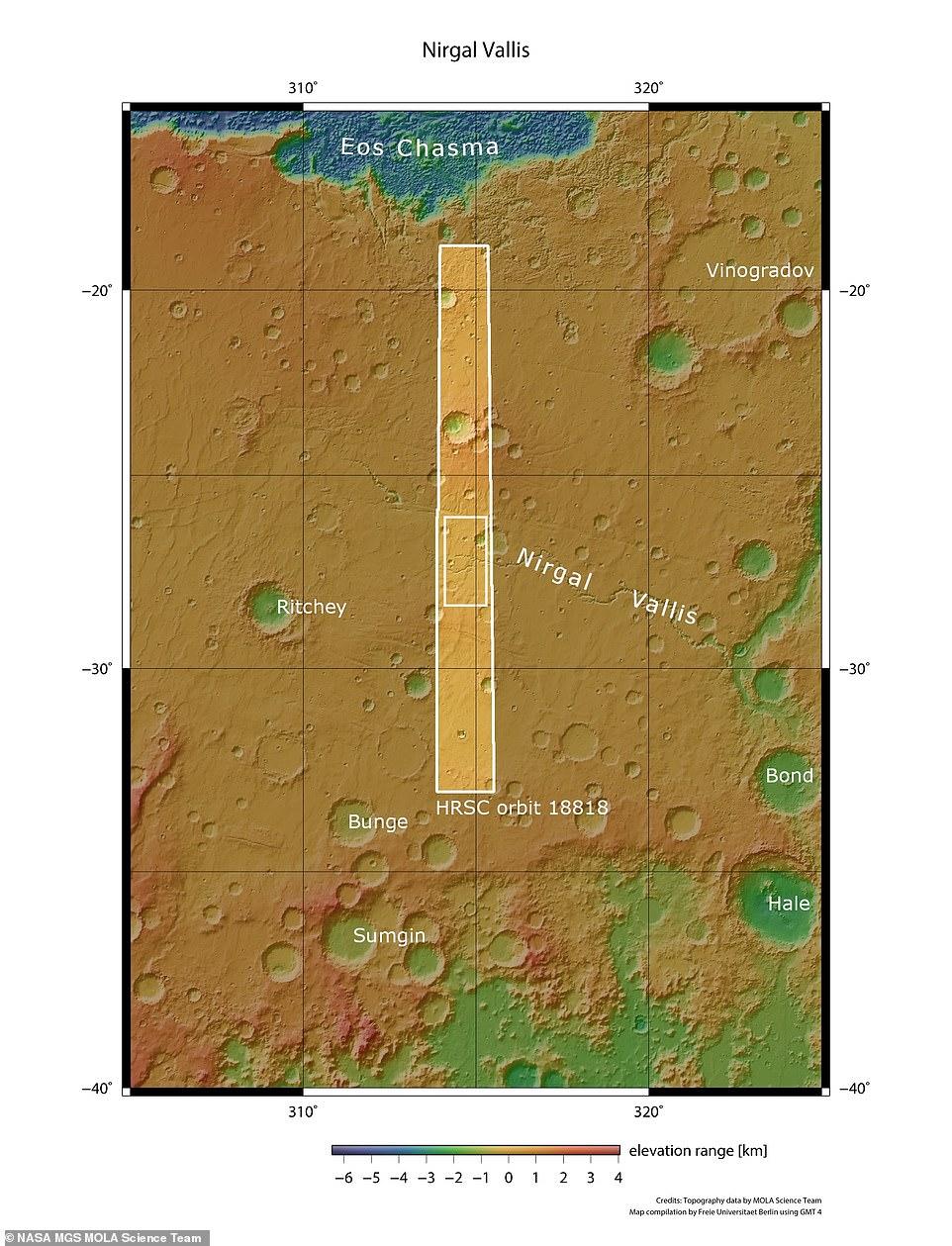 نهر المريخ 2