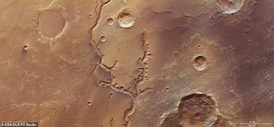 نهر المريخ 3