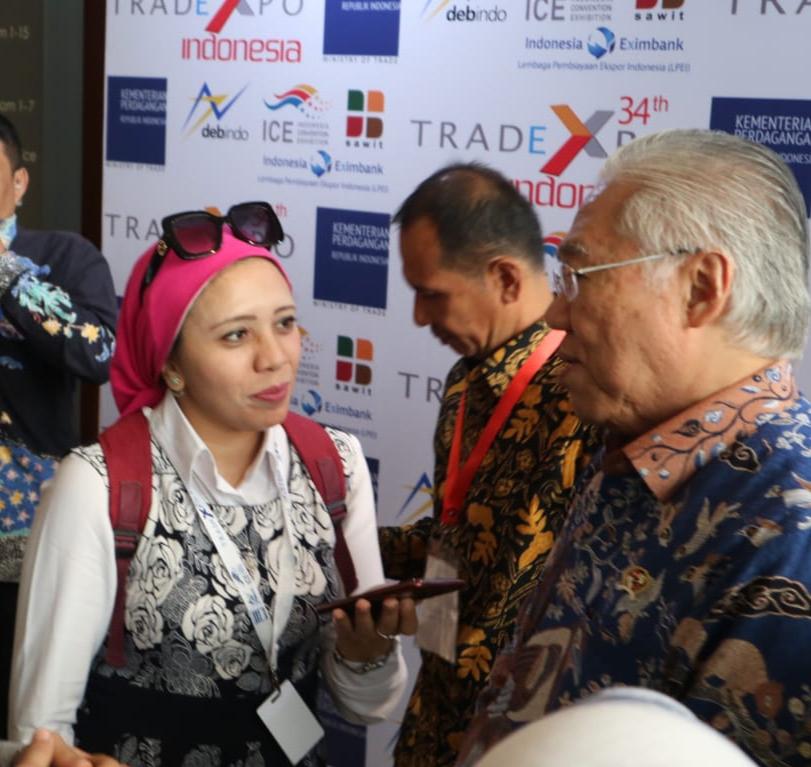 وزير التجارة الإندونيسى يتحدث لـ اليوم السابع