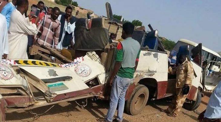 حادث سير فى السودان - أرشيفية