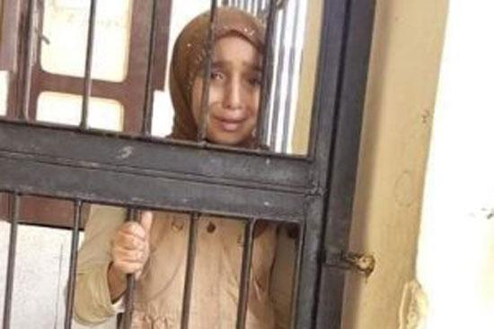 حبس طالبة كفر الشيخ