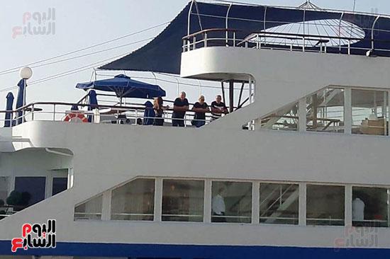 الوفد السياحي يطل على شاطىء الاسكندرية