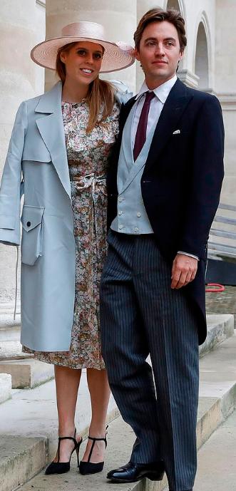 الأميرة بياتريس وخطيبها إدواردو