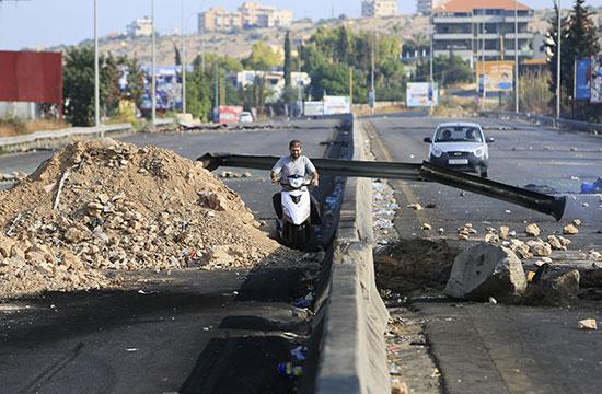 شوارع لبنان