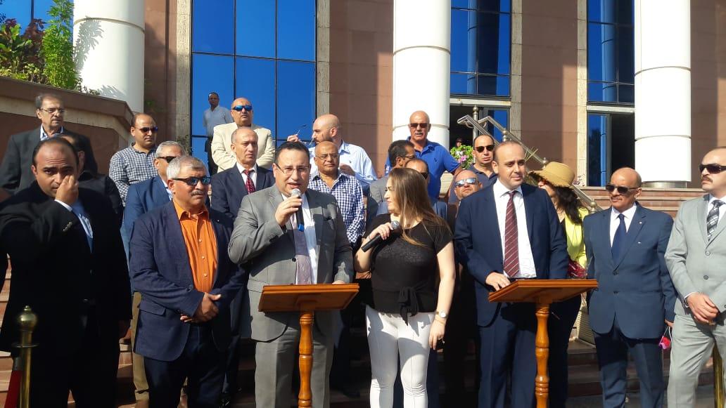 محافظ الإسكندرية خلال المؤتمر (4)
