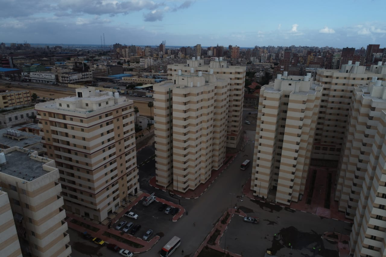 التخطيط العمرانى لبشاير الخير بعد ان كانت منطقة عشوائية