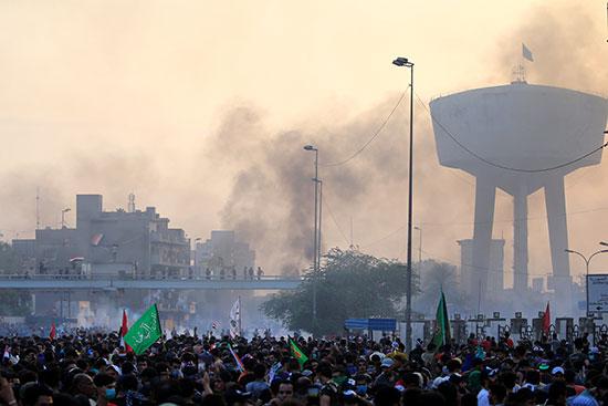 اتساع رقعة الاحتجاجات