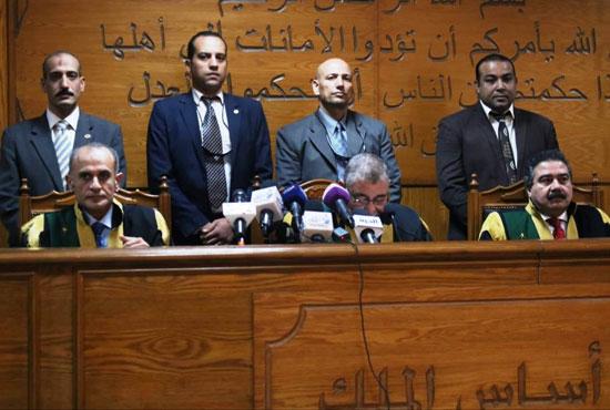 هيئة-المحكمة-برئاسة-المستشار-حسن-فريد-(4)