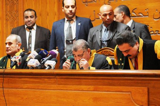 هيئة-المحكمة-برئاسة-المستشار-حسن-فريد-(6)