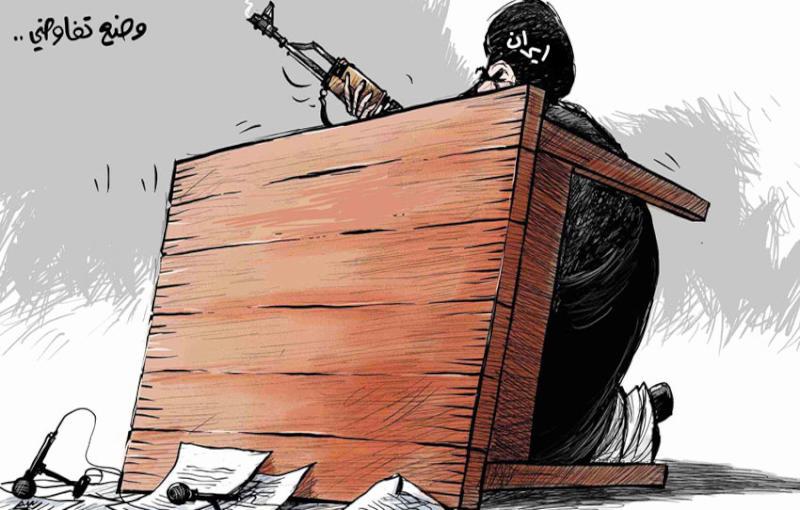 إيران تتفاوض مع المجتمع الدولى عن طريق السلاح