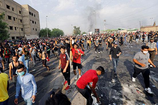 تزايد اعداد المحتجون