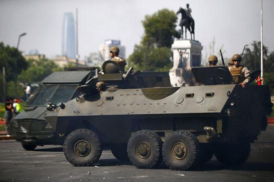 قوات الجيش فى تشيلى