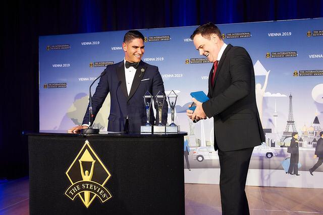 ثلاث جوائز لرجل الأعمال أحمد أبو هشيمة