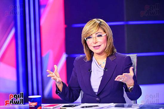 كواليس انطلاق الحلقة الأولى من برنامج لميس الحديدى القاهرة الآن