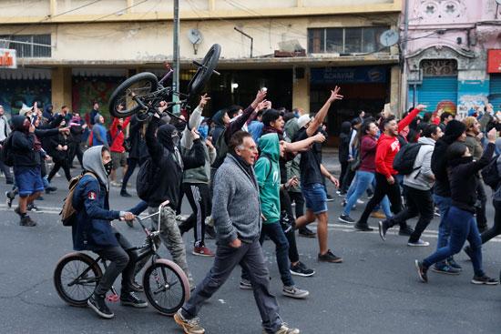 مظاهرات-تشيلى