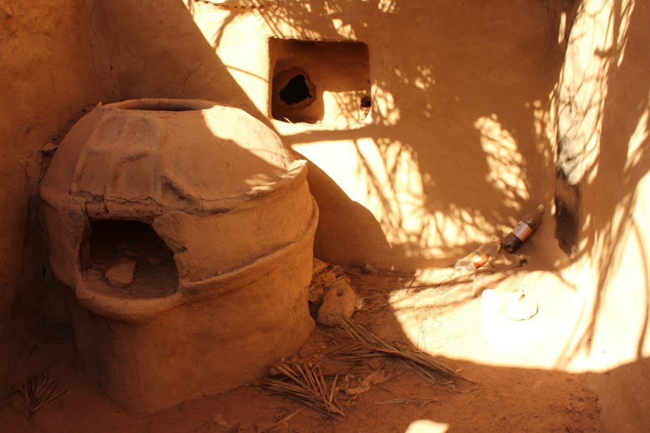 جانب من العمل داخل مدينة بلاط الأثرية (4)