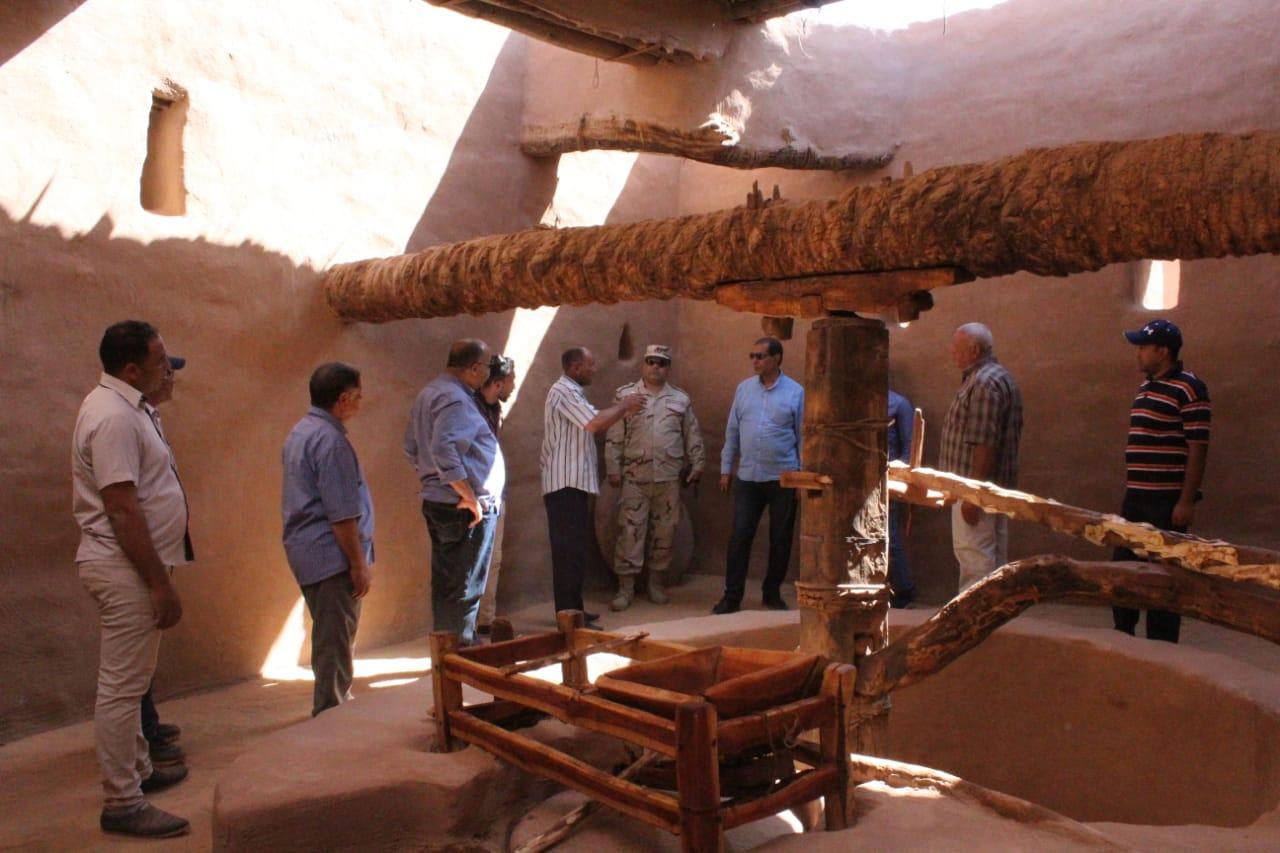 جانب من العمل داخل مدينة بلاط الأثرية (7)